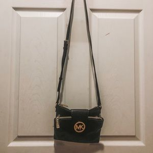 Black MK crossbody bag